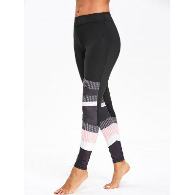 Graphic Color Block Skinny LeggingsPants<br>Graphic Color Block Skinny Leggings<br><br>Material: Polyester<br>Package Contents: 1 x Leggings<br>Pattern Type: Geometric<br>Style: Casual<br>Waist Type: Mid<br>Weight: 0.2000kg