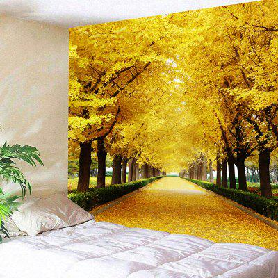 Avenue Trees Print Wall Art Tapestry