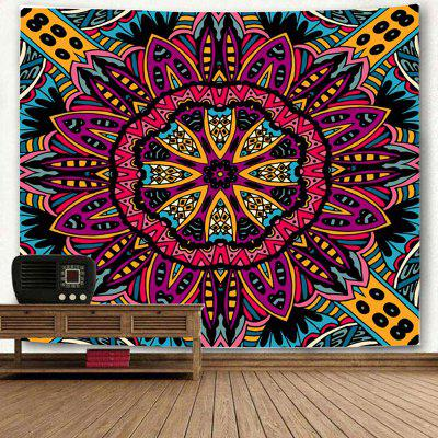 Bohemian Mandala Print Wall Art TapestryBlanksts&amp; Throws<br>Bohemian Mandala Print Wall Art Tapestry<br><br>Feature: Removable, Washable<br>Material: Polyester<br>Package Contents: 1 x Tapestry<br>Shape/Pattern: Floral<br>Style: Mandala<br>Weight: 0.2500kg