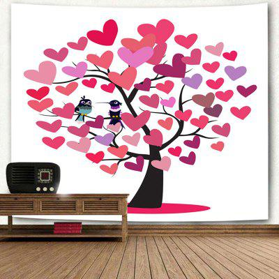Valentines Day Love Hearts Tree Birds Wall Art TapestryBlankets &amp; Throws<br>Valentines Day Love Hearts Tree Birds Wall Art Tapestry<br><br>Feature: Removable, Washable<br>Material: Polyester<br>Package Contents: 1 x Tapestry<br>Shape/Pattern: Animal,Heart,Tree<br>Style: Festival<br>Theme: Valentines Day<br>Weight: 0.3700kg