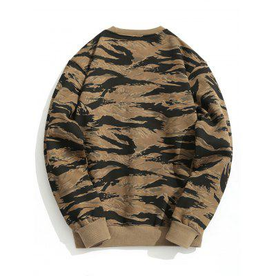 Fleeced Camo SweatshirtMens Hoodies &amp; Sweatshirts<br>Fleeced Camo Sweatshirt<br><br>Material: Polyester<br>Package Contents: 1 x Sweatshirt<br>Pattern Type: Camo<br>Shirt Length: Regular<br>Sleeve Length: Full<br>Style: Fashion<br>Weight: 0.6200kg