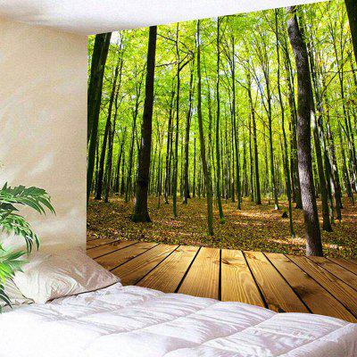 Forest Wood Grain Wall Hanging Tapestry