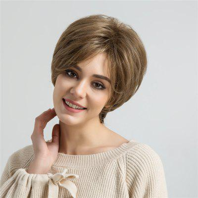 Short Oblique Bang Layered Fluffy Straight Synthetic WigSynthetic Wigs<br>Short Oblique Bang Layered Fluffy Straight Synthetic Wig<br><br>Bang Type: Side<br>Cap Construction: Capless<br>Length: Short<br>Length Size(CM): 28<br>Material: Synthetic Hair<br>Package Contents: 1 x Wig<br>Style: Straight<br>Type: Full Wigs<br>Weight: 0.2000kg