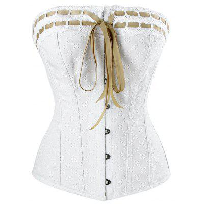Lace-up Steel Boned Corset