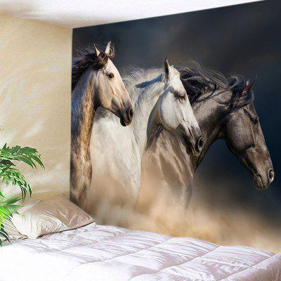 Horses Pattern Tapestry Wall Hanging Art