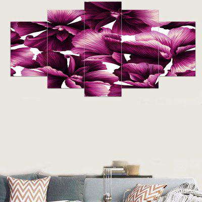 Flowers Printed Canvas Unframed Wall Art Paintings