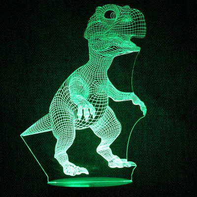 Tyrannosaurus Touch Colors Changing LED Night Light