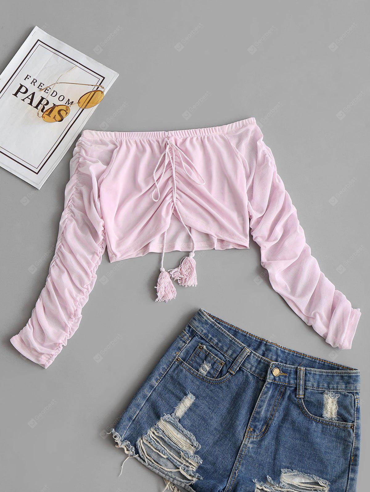 SHALLOW PINK, Apparel, Women's Clothing, Blouses
