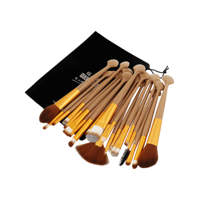 Professional 20Pcs Ultra Soft Fiber Hair Eye Makeup Brush SetMakeup Brushes &amp; Tools<br>Professional 20Pcs Ultra Soft Fiber Hair Eye Makeup Brush Set<br><br>Brush Hair Material: Synthetic Hair<br>Category: Makeup Brushes Set<br>Features: Eco-friendly<br>Package Contents: 20 x Brushes(Pcs), 1 x Brush Bag<br>Season: Fall, Spring, Summer, Winter<br>Weight: 0.1935kg