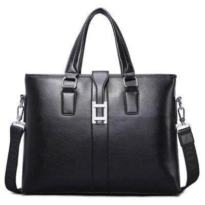 Multi Function PU Leather Briefcase