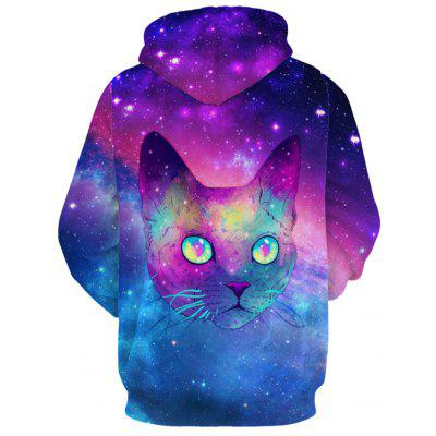 Animl Face 3D Print Galaxy HoodieMens Hoodies &amp; Sweatshirts<br>Animl Face 3D Print Galaxy Hoodie<br><br>Clothes Type: Hoodie<br>Material: Polyester<br>Occasion: Sports, Going Out, Daily Use, Club, Casual<br>Package Contents: 1 x Hoodie<br>Patterns: 3D,Animal,Print<br>Shirt Length: Regular<br>Sleeve Length: Full<br>Style: Fashion<br>Thickness: Regular<br>Weight: 0.5000kg