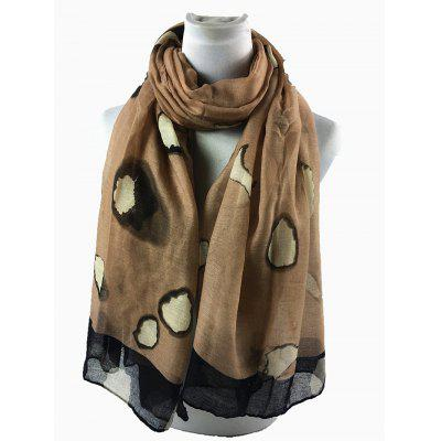 Unique Spotted Pattern Embellished Silky Long ScarfScarves<br>Unique Spotted Pattern Embellished Silky Long Scarf<br><br>Gender: For Women<br>Group: Adult<br>Length (CM): 180CM<br>Material: Polyester<br>Package Contents: 1 x Scarf<br>Scarf Length: Above 175CM<br>Scarf Type: Scarf<br>Scarf Width (CM): 87CM<br>Season: Spring, Winter, Fall<br>Style: Fashion<br>Weight: 0.0900kg