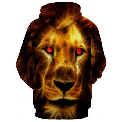 Lion Face 3D Print HoodieMens Hoodies &amp; Sweatshirts<br>Lion Face 3D Print Hoodie<br><br>Clothes Type: Hoodie<br>Material: Polyester<br>Occasion: Sports, Going Out, Daily Use, Club, Casual<br>Package Contents: 1 x Hoodie<br>Patterns: 3D,Animal,Print<br>Shirt Length: Regular<br>Sleeve Length: Full<br>Style: Fashion<br>Thickness: Regular<br>Weight: 0.5000kg