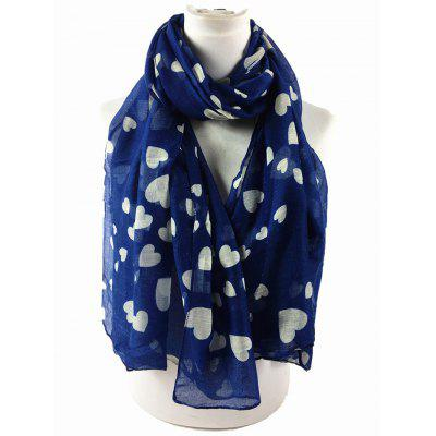 Soft Heart Pattern Embellished Silky Long ScarfScarves<br>Soft Heart Pattern Embellished Silky Long Scarf<br><br>Gender: For Women<br>Group: Adult<br>Length (CM): 180CM<br>Material: Polyester<br>Package Contents: 1 x Scarf<br>Pattern Type: Heart<br>Scarf Length: Above 175CM<br>Scarf Type: Scarf<br>Scarf Width (CM): 87CM<br>Season: Spring, Winter, Fall<br>Style: Fashion<br>Weight: 0.1000kg