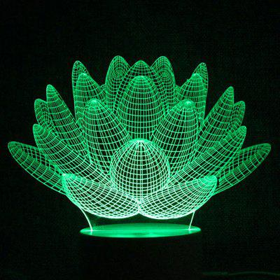 Succulent Plant Touch Colors Alterando LED Night Light