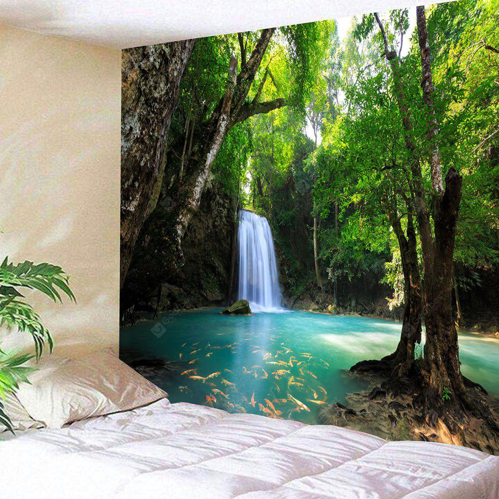 Cachoeira Natural Scenery Wall Hanging Tapestry