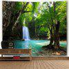 Cachoeira Natural Scenery Wall Hanging Tapestry - COR MISTURA