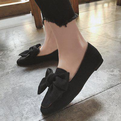 Bowknot Slip On LoafersWomens Flats<br>Bowknot Slip On Loafers<br><br>Closure Type: Slip-On<br>Embellishment: Bow<br>Flat Type: Ballet Flats<br>Gender: For Women<br>Heel Height Range: Flat(0-0.5)<br>Occasion: Casual<br>Package Contents: 1 x Loafers (pair)<br>Pattern Type: Bowknot<br>Season: Spring/Fall<br>Shoe Width: Medium(B/M)<br>Toe Shape: Round Toe<br>Toe Style: Closed Toe<br>Upper Material: Cloth<br>Weight: 1.1400kg