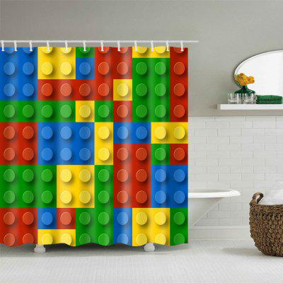 Building Blocks Print Waterproof Bath Shower CurtainShower Curtain<br>Building Blocks Print Waterproof Bath Shower Curtain<br><br>Materials: Polyester<br>Number of Hook Holes: W59 inch*L71 inch: 10; W71 inch*L71 inch: 12; W71 inch*L79 inch: 12<br>Package Contents: 1 x Shower Curtain 1 x Hooks (Set)<br>Products Type: Shower Curtains<br>Style: Trendy