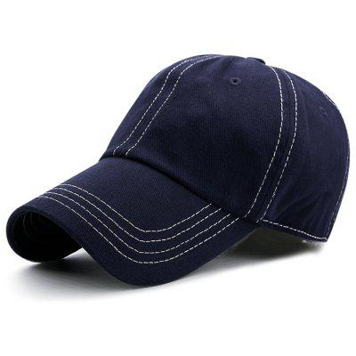 Outdoor Line Embroidery Adjustable Baseball Cap