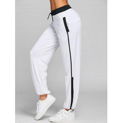 Drawstring Two Tone Sports Pants