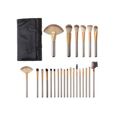 Ombre Hair 24Pcs Makeup Brushes Set With Cosmetic BagMakeup Brushes &amp; Tools<br>Ombre Hair 24Pcs Makeup Brushes Set With Cosmetic Bag<br><br>Brush Hair Material: Nylon<br>Category: Makeup Brushes Set<br>Features: Limits Bacteria<br>Package Contents: 24 x Makeup Brushes (Pcs) 1 x Makeup Bag<br>Season: Fall, Spring, Summer, Winter<br>Weight: 0.4550kg