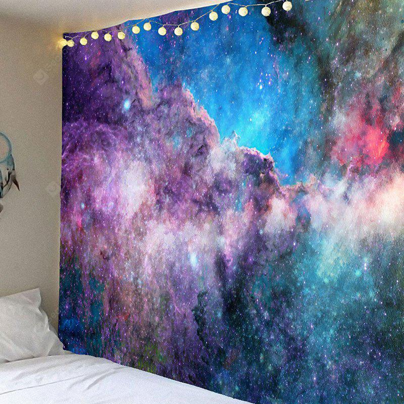Dazzling Starry Sky Printed Wall Art Tapestry