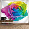San Valentino Colorful Rose Printed Tapestry - COLORATO