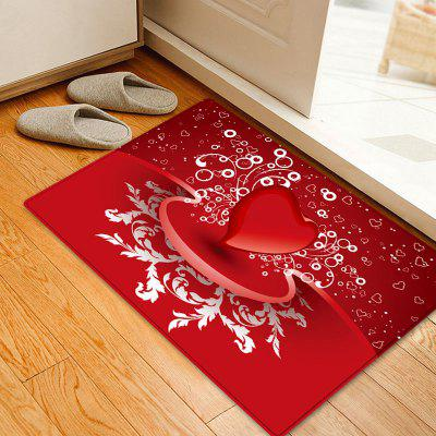 Valentine's Day Heart Pattern Indoor Outdoor Rug