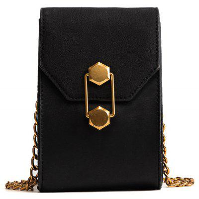 Cadeia de Metal Mini Crossbody Bag