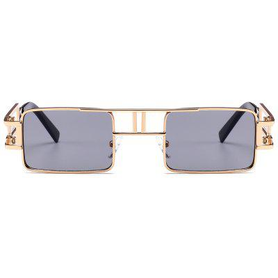 Square Sunglasses with Hollow Out Carver FrameSquare Sunglasses with Hollow Out Carver Frame<br><br>Frame Length: 14.1CM<br>Frame material: Alloy<br>Gender: For Unisex<br>Group: Adult<br>Lens height: 3.2CM<br>Lens material: Resin<br>Lens width: 5.8CM<br>Nose: 1.4CM<br>Package Contents: 1 x Sunglasses<br>Shape: Square<br>Style: Fashion<br>Temple Length: 13CM<br>Weight: 0.0700kg