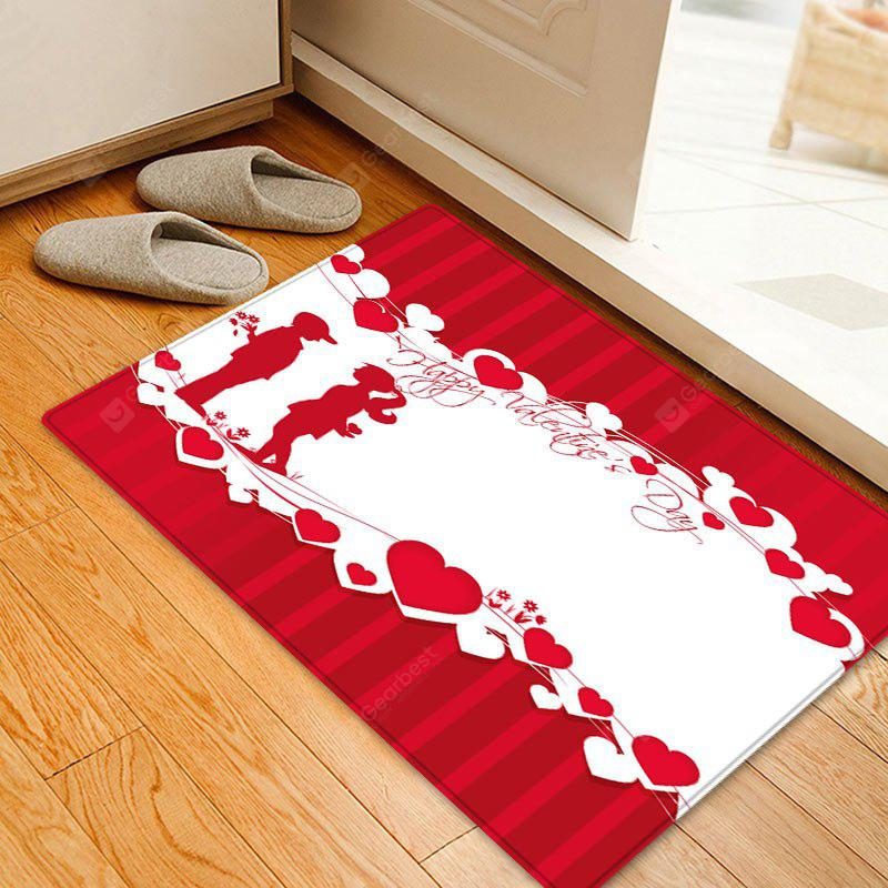 Valentine's Day Lover Pattern Indoor Outdoor Area Rug