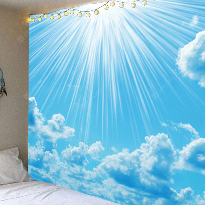 Wall Art Clear Sky and Cloud Printed Waterprood Hanging Tapestry
