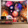 Firework Print Wall Tapestry - COLORFUL