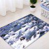 Seascape Pattern Indoor Outdoor Area Rug - WHITE