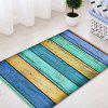 Colorful Wood Grain Pattern Indoor Outdoor Area Rug - COLORMIX