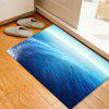 Sea Surface Pattern Indoor Outdoor Area Rug - BLUE