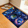 Solar System Pattern Floor Area Rug - BLUE