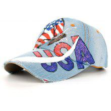 f753537a7a1 Unique Hand Drawing Butterfly American Flag Baseball Hat