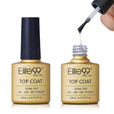 10ML Tempered Nail Polish Soak Off Long Lasting Top Coat