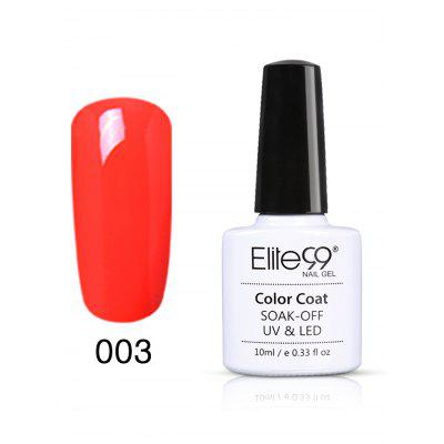 10ML Orange Series UV Gel Nail Art unha polonês
