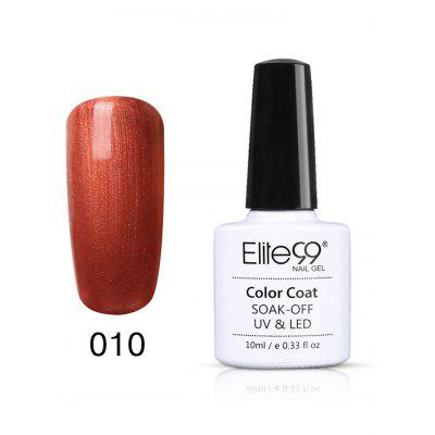 10ML Orange Series UV Gel Nail Art Nail Polish
