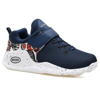 Color Blocking Breathable Sneakers