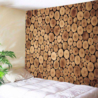 Tree Grain Print Tapestry Wall Hanging Decoration