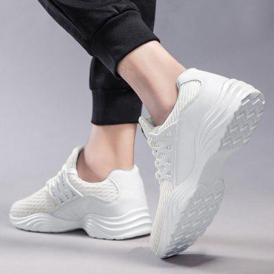 Breathable Mesh Style Outdoor SneakerAthletic Shoes<br>Breathable Mesh Style Outdoor Sneaker<br><br>Closure Type: Lace-Up<br>Feature: Breathable<br>Gender: For Men<br>Outsole Material: Rubber<br>Package Contents: 1 x Sneakers (Pair)<br>Pattern Type: Others<br>Season: Spring/Fall<br>Shoe Width: Medium(B/M)<br>Upper Material: Mesh<br>Weight: 1.2000kg