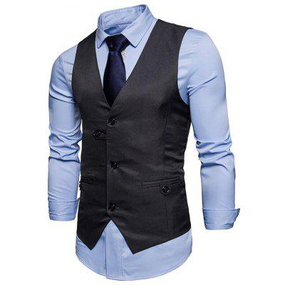 Single Breasted V Neck Belted WaistcoatWaistcoats<br>Single Breasted V Neck Belted Waistcoat<br><br>Closure Type: Single Breasted<br>Collar: V-Neck<br>Material: Polyester<br>Package Contents: 1 x Waistcoat<br>Shirt Length: Regular<br>Style: Casual<br>Thickness: Thin<br>Weight: 0.2700kg
