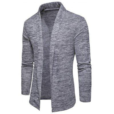 Space Dye Open Front Shawl Collar CardiganMens Sweaters &amp; Cardigans<br>Space Dye Open Front Shawl Collar Cardigan<br><br>Collar: Shawl Collar<br>Material: Cotton, Polyester<br>Package Contents: 1 x Cardigan<br>Sleeve Length: Full<br>Style: Casual<br>Type: Cardigans<br>Weight: 0.4000kg