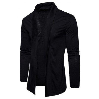 Shawl Collar Open CardiganMens Sweaters &amp; Cardigans<br>Shawl Collar Open Cardigan<br><br>Collar: Shawl Collar<br>Material: Cotton, Polyester<br>Package Contents: 1 x Cardigan<br>Sleeve Length: Full<br>Style: Casual<br>Type: Cardigans<br>Weight: 0.3800kg