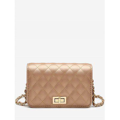 Quilted Stitching Crossbody Bag