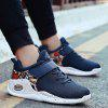 Color Blocking Breathable Sneakers - BLUE